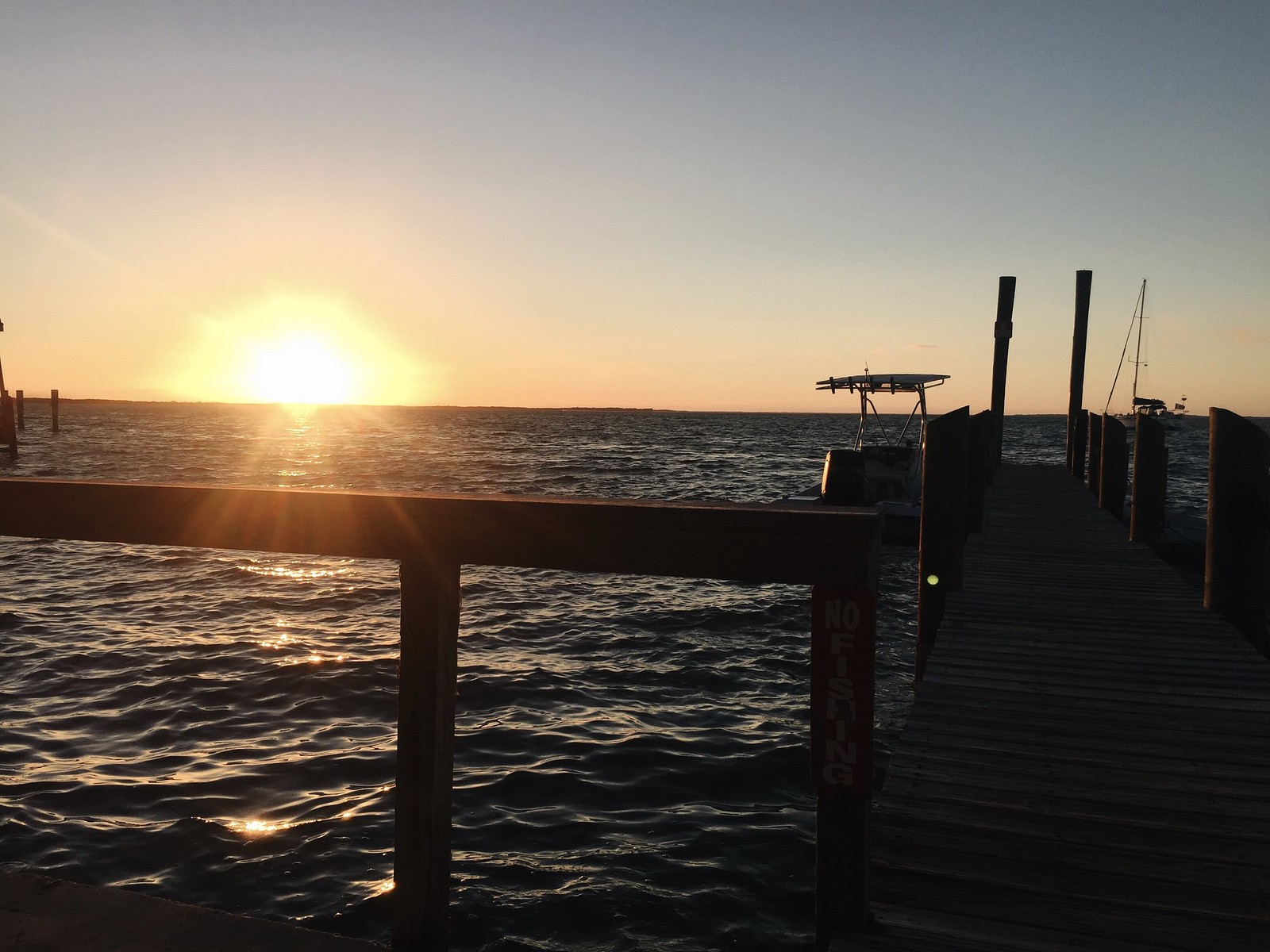 Caribbean Club Pier, Key Largo, Florida