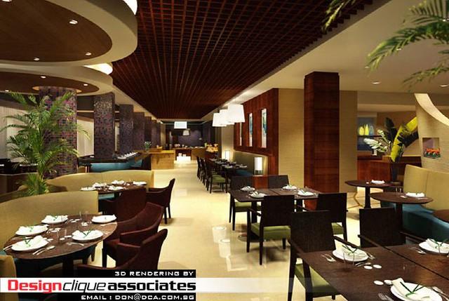 3d softel 3meal restaurant designer hirsch bedner for 3d restaurant design software
