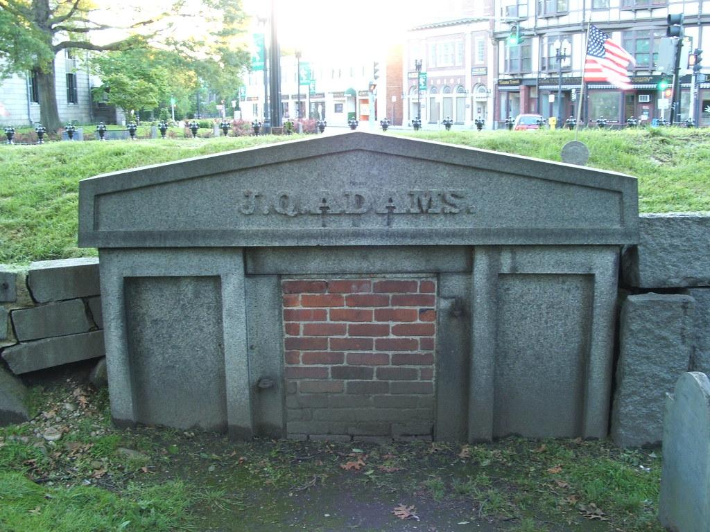 John Quincy Adams Gravesite David Parsons Flickr