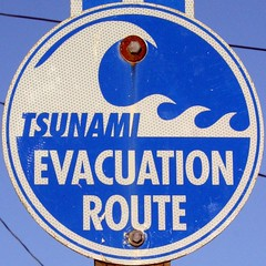 Evacuation Sign | by Major Clanger