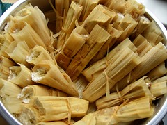 Tamales in the steamer | by Biggie*