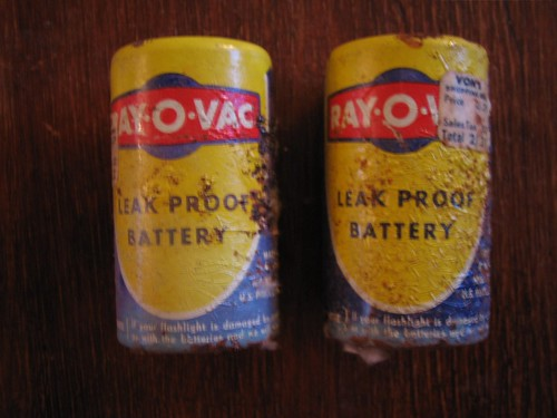 Old Ray-O-Vac Batteries | by deanj