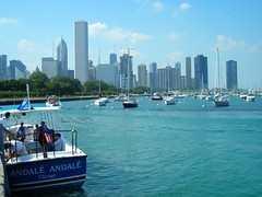 Chicago from Acquarium | by Alice Olive