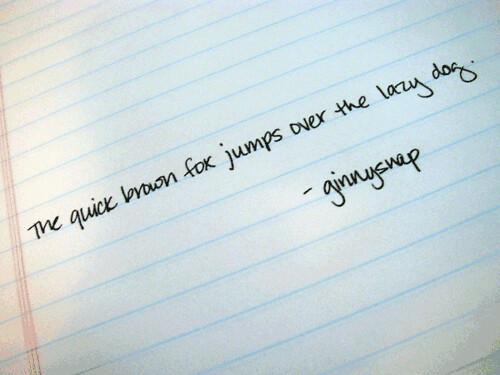 handwriting a dying art