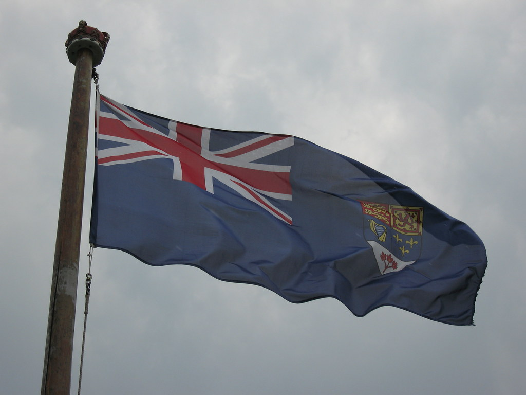 Canadian Blue Ensign Until 1965 Canadas Unofficial
