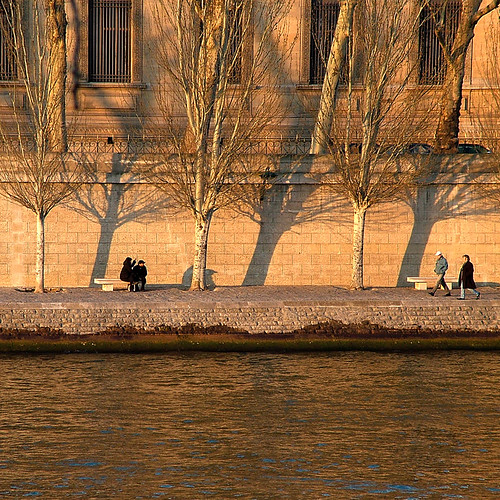 Rita Crane Photography:  Winter Afternoon along the Quais, Paris | by Rita Crane Photography