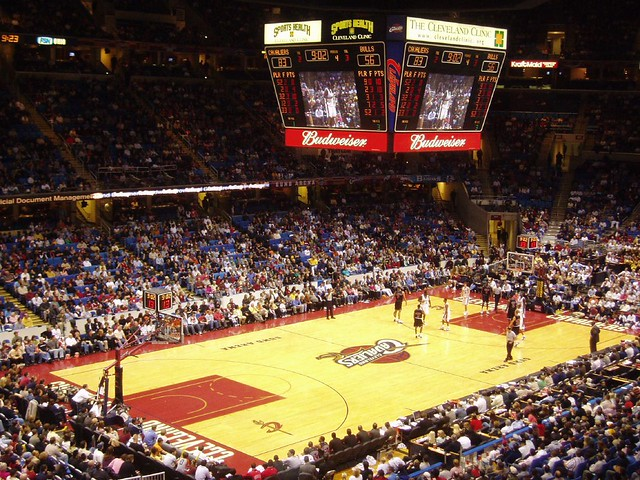 Cleveland Basketball Team >> Cleveland Cavaliers basketball | The Quicken Loan Arena ...