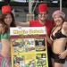 kebab @ Japanese beach with bikini girls