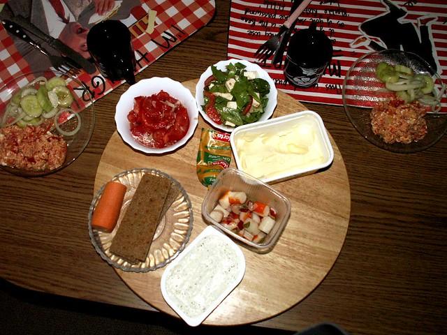 typisches deutsches abendbrot typical german dinner flickr. Black Bedroom Furniture Sets. Home Design Ideas