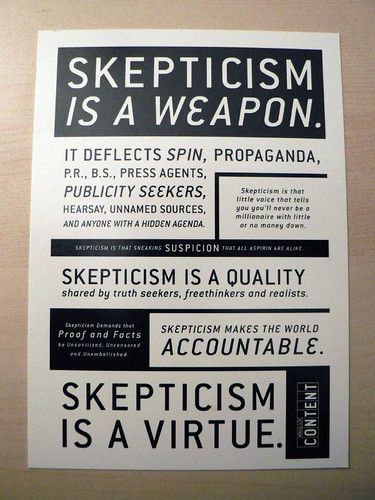 skepticism by Christina