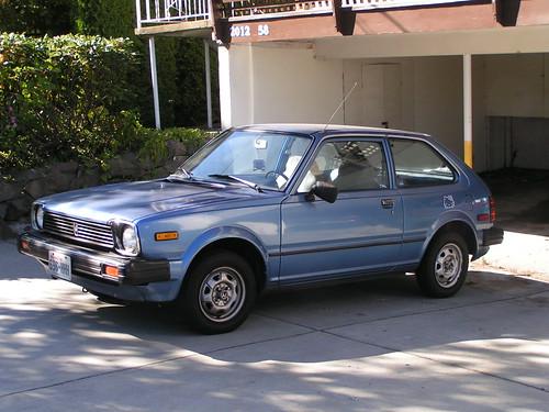 Early 80s Honda Civic Ballard Seattle 08 27 06