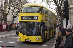 Wrightbus NRM NBFL - LTZ 1747 - LT747 - Lego Store - Crouch End 91 - Metroline - London - 161203 - Steven Gray - IMG_9037