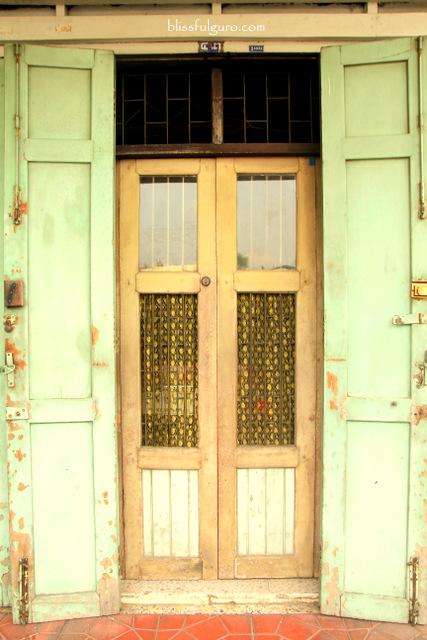 Old Door Bangkok Thailand