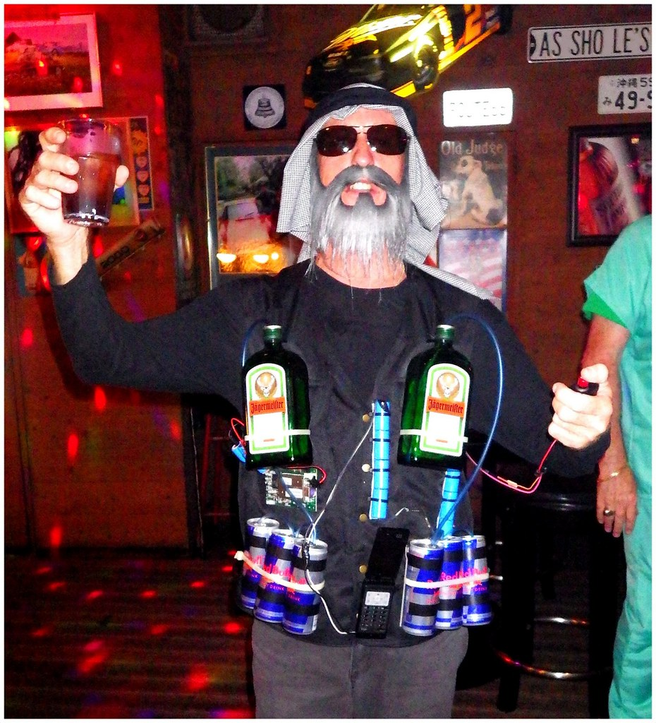 ... THE JAGER-BOMBER WITH HIS FINGER ON THE TRIGGER -- Another Halloween in Okinawa  sc 1 st  Flickr & THE JAGER-BOMBER WITH HIS FINGER ON THE TRIGGER -- Anotheru2026 | Flickr