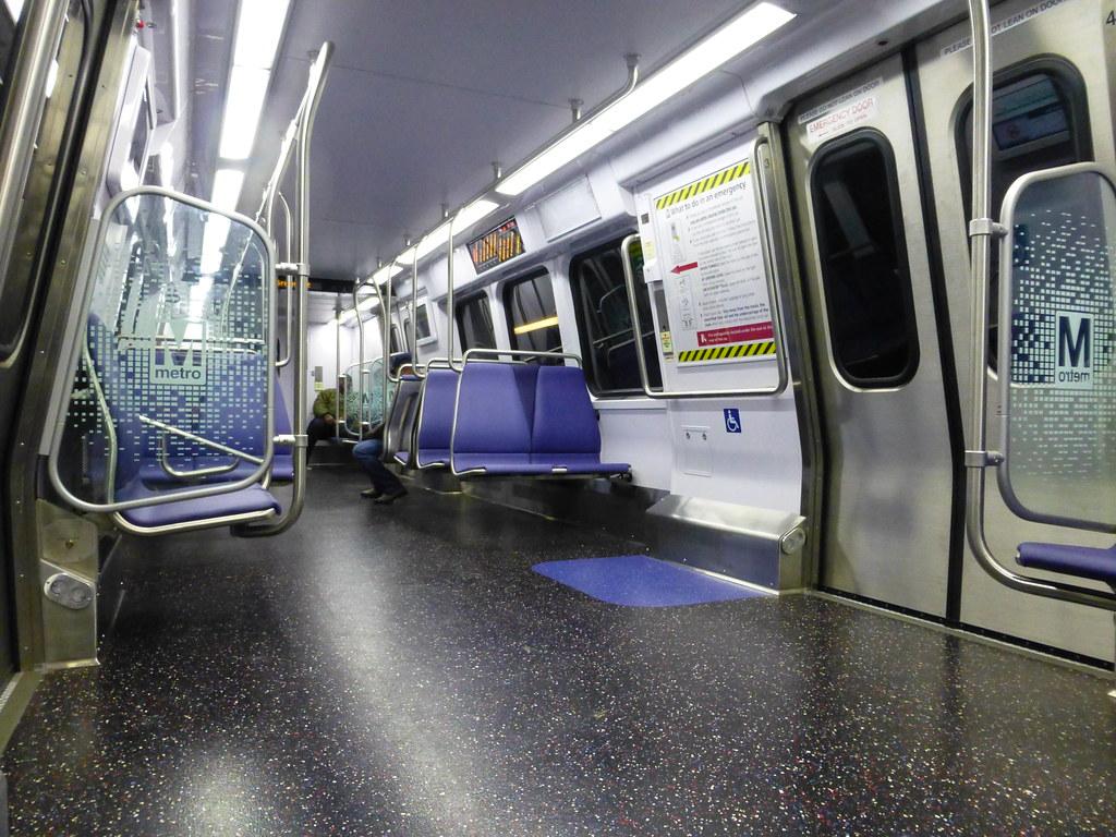 washington dc new metro train interior love the new train flickr. Black Bedroom Furniture Sets. Home Design Ideas