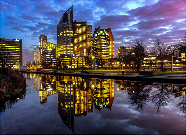 Skyline of The Hague 2016