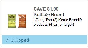 New Kettle Chips Coupon