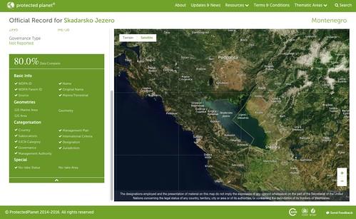 Official Record for Skadarsko Jezero (Lake Skadar)