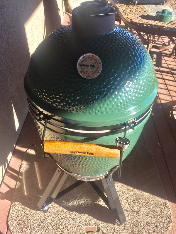 Big Green Egg Initial Thoughts