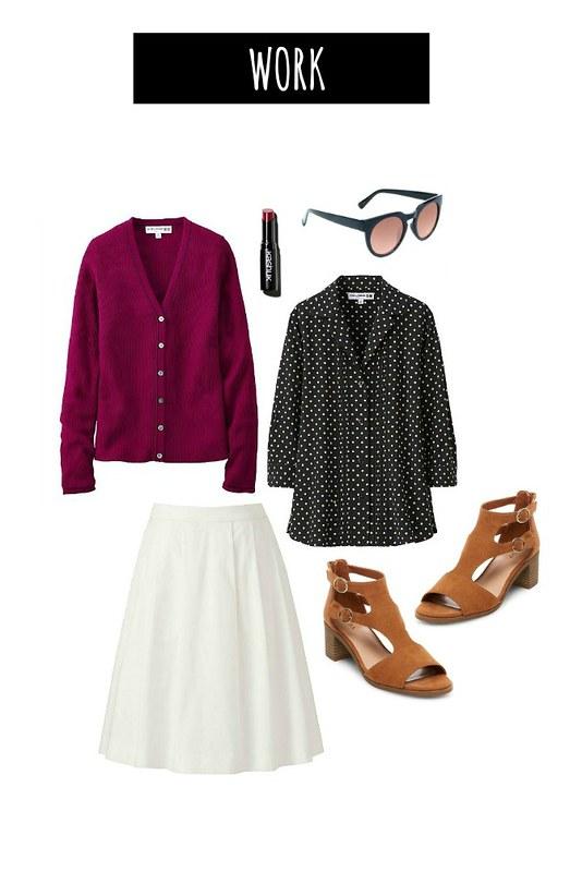 3 ways polka dot blouse work | Style On Target