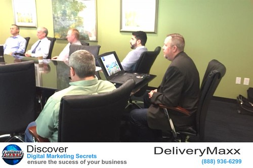 Jason talking to the Managers about the one of a kind DeliveryMaxx program | by DeliveryMaxx