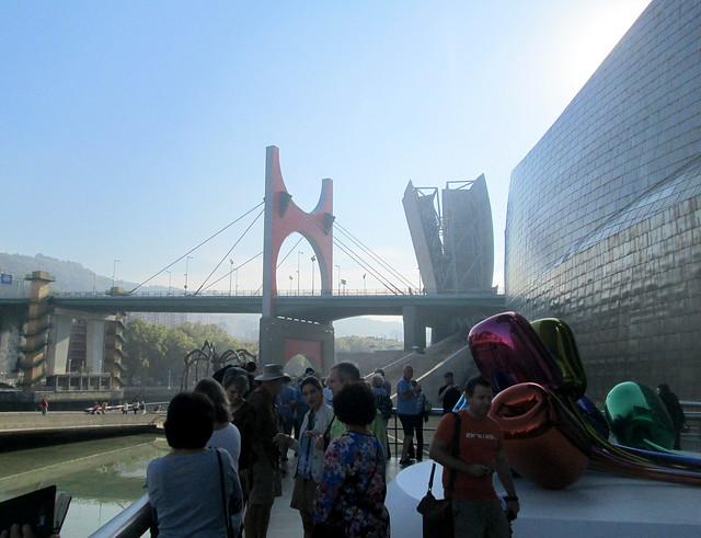 Guggenheim Museum, Bilbao + Bridge