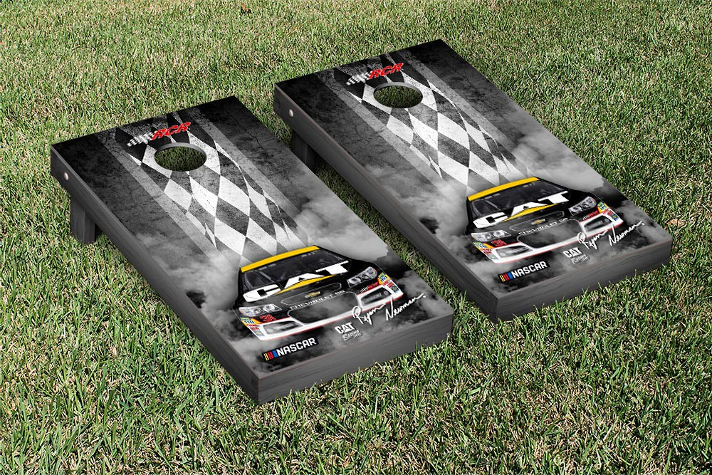 RYAN NEWMAN #31 CORNHOLE GAME SET PIT ROW VERSION 2