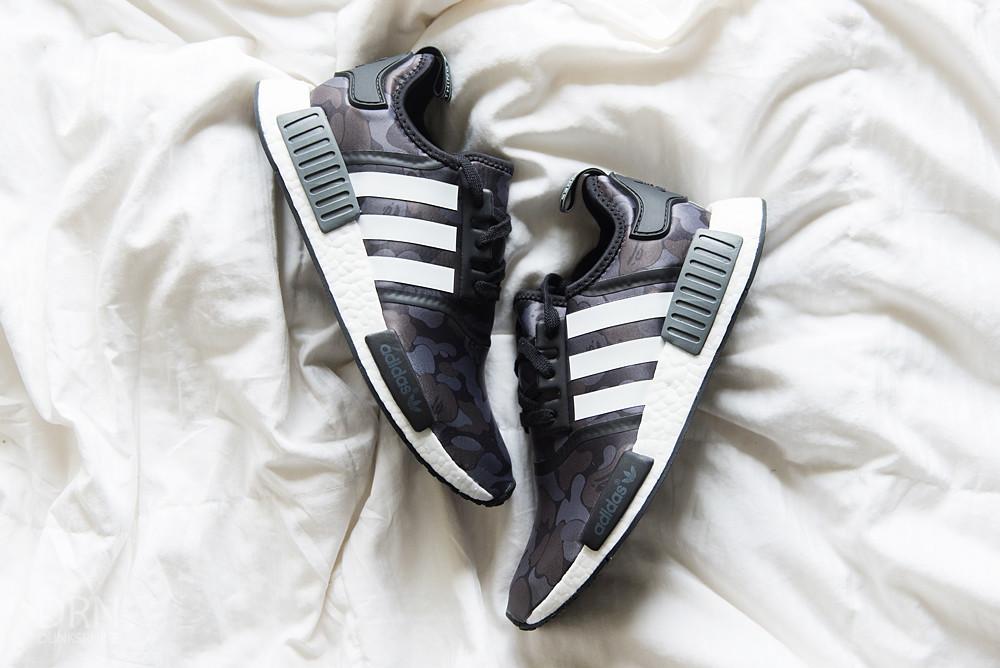 Adidas Bape Black Camo NMD's.