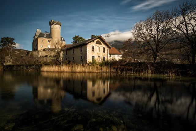 Château de Ruphy à Duingt