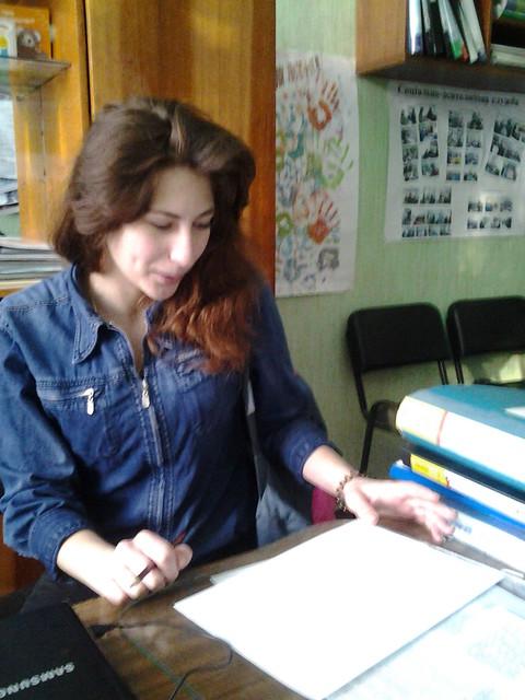 Індивідуальні заняття з ученицею 20 ШЛПМ групи Скрипник Є.