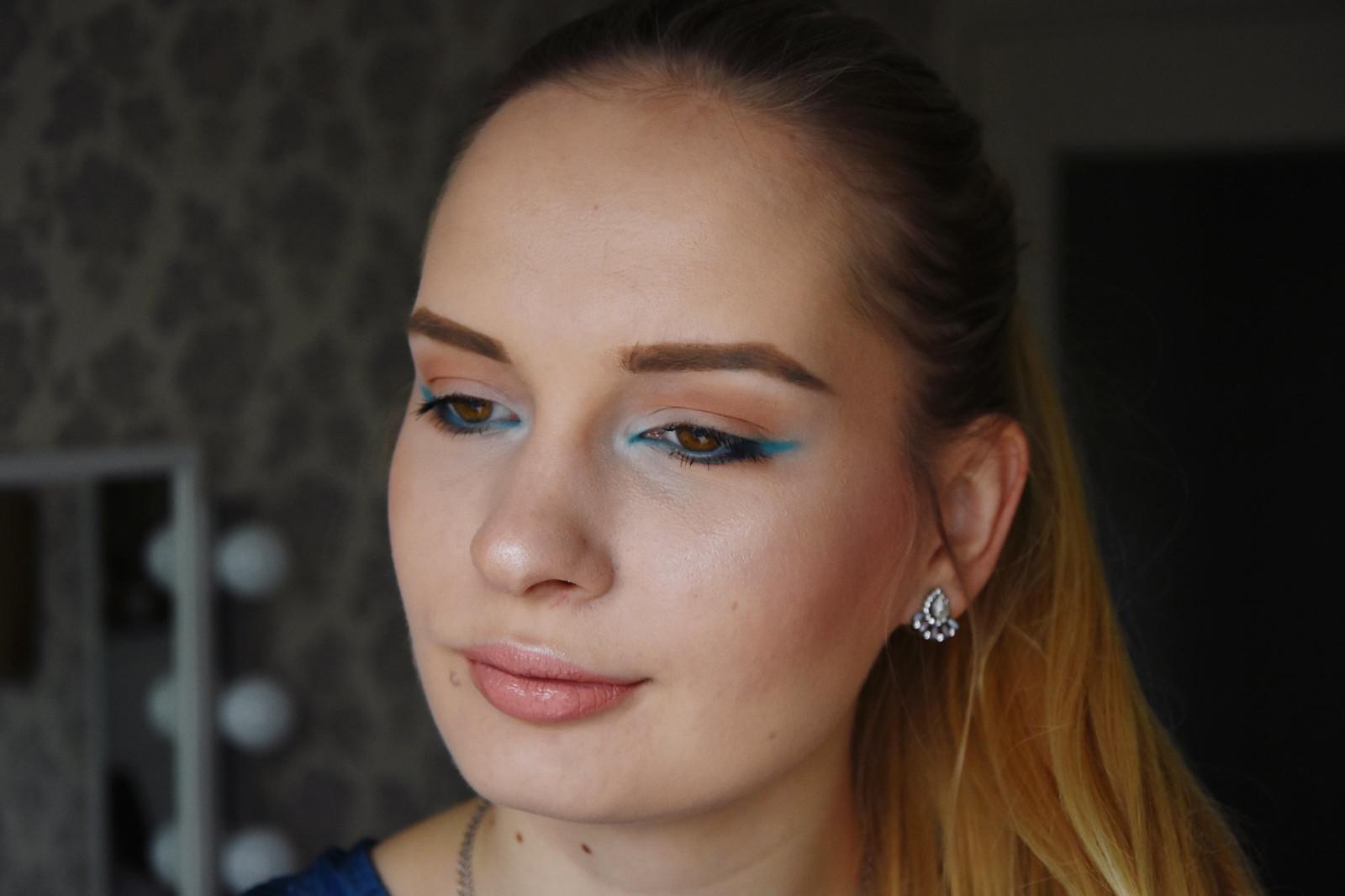Blue makeup inspiration