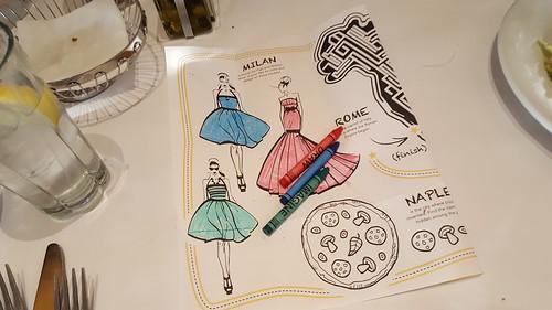 Kids coloring pages at Bravo! Cucina Italiana