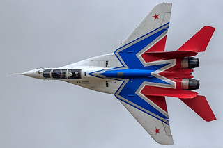 "MiG-29UB, ""Swifts"" (Strizhi) 