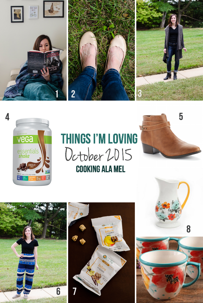 Things I'm Loving October 2015 | cookingalamel.com