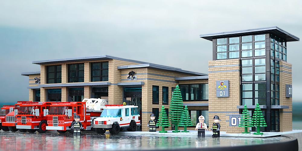 Lego City Fire Station Instructions