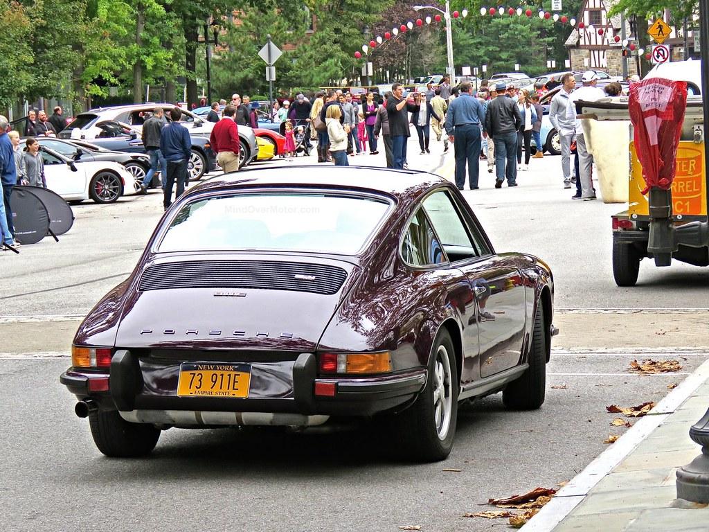 Purple Porsche 911E Scarsdale 6