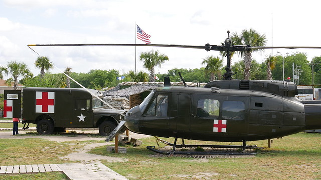 UH-1H Iroquois & Kaiser Jeep M725 Ambulance