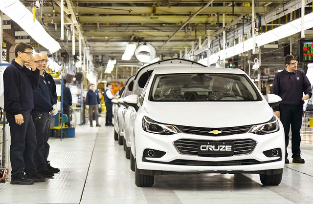 Chevrolet Cruze (Planta Alvear - Santa Fé) 1
