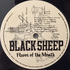 BLACK SHEEP:FLAVOR OF THE MONTH(LABEL SIDE-A)