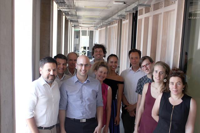 Expositor de Congreso Futuro visita al LIP UC