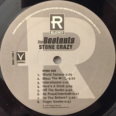 THE BEATNUTS:STONE CRAZY(LABEL SIDE-A)
