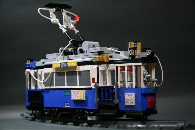 Amsterdam old tram_002
