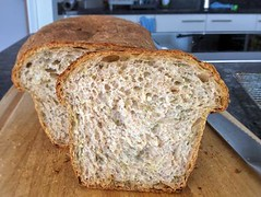 Courgette sandwich loaf