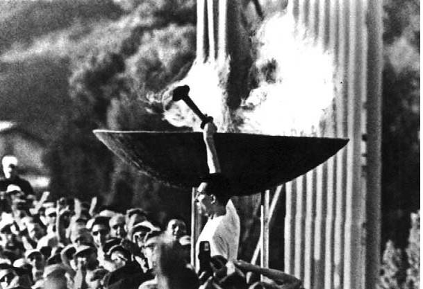 fiamma olimpiadi del 1936