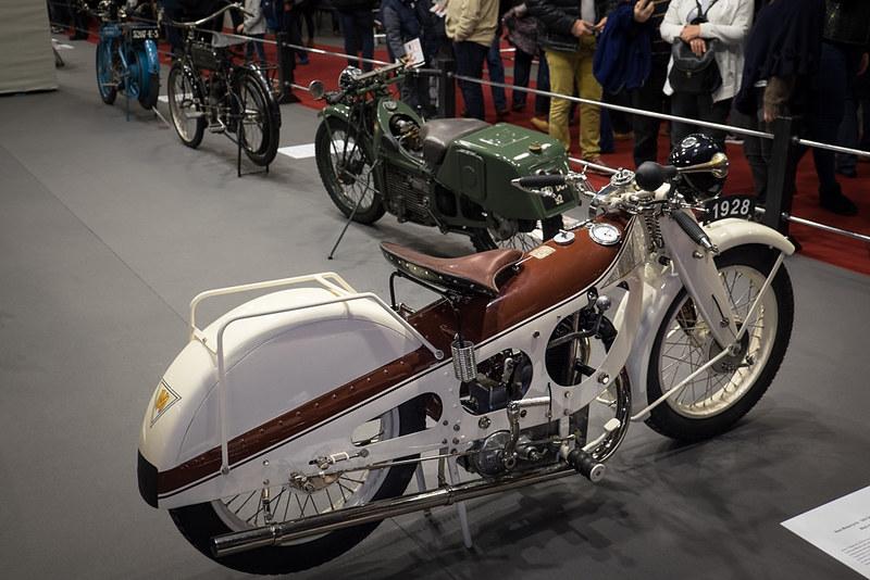 Moto stylée