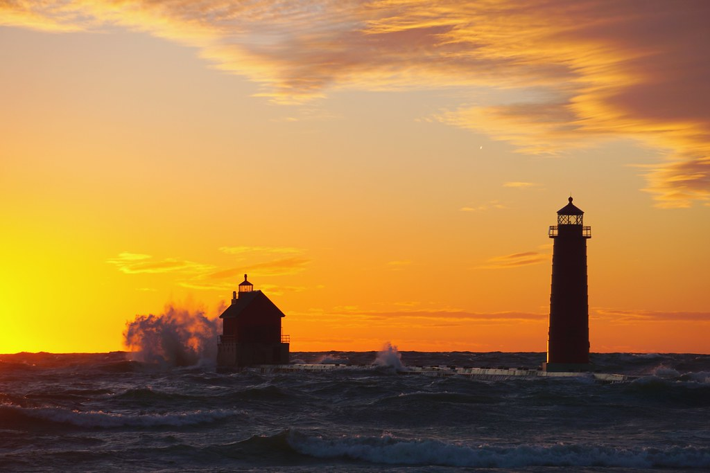 Grand Haven State Park, Michigan