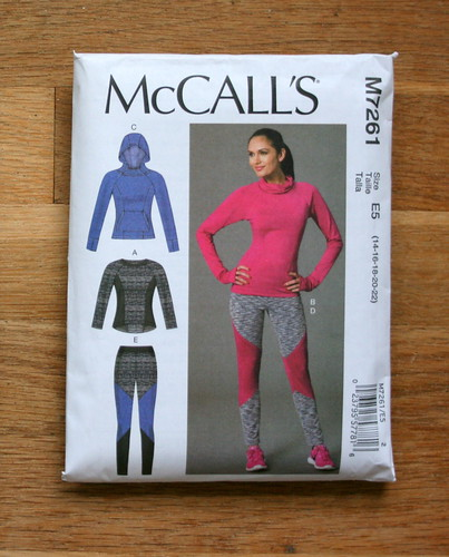 McCall's 7261--Activewear top | by patternandbranch