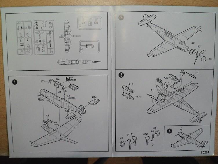 Ouvre-boîte Messerschmitt Bf 109 G-2 Trop [Hobby boss 1/72] 32723401115_dd1072f220_b