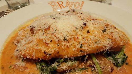Romano Crusted Tilapia. Taste Good - Feel Good: Bravo! Cucina Italiana's New Spring Menu