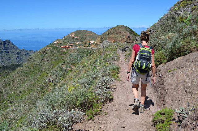 Walking in Anaga, Tenerife